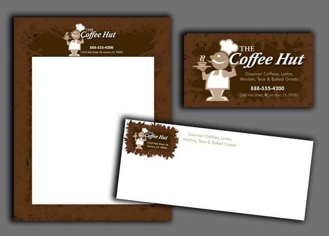 High quality letterhead promotes a professional image.